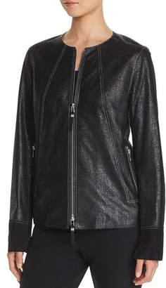 Lafayette 148 New York Anasophia Metallic Suede Jacket