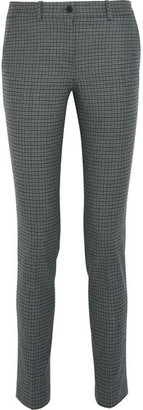 Michael Kors Collection - Samantha Stretch-wool Tweed Skinny Pants - Gray $695 thestylecure.com