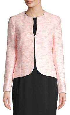 Anne Klein Tweed Stripe Blazer
