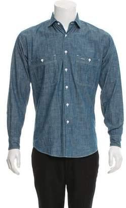 Aspesi Chambray Button-Up Shirt