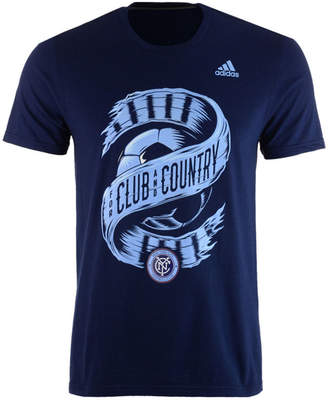 adidas Men's New York City Fc Club & Country T-Shirt
