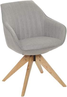 Zanui & HOME Lowell Dining Chair, Mirage Grey