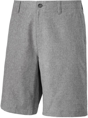Greg Norman for Tasso Elba Men's Classic-Fit Heathered Performance Shorts, Only at Macy's $55 thestylecure.com
