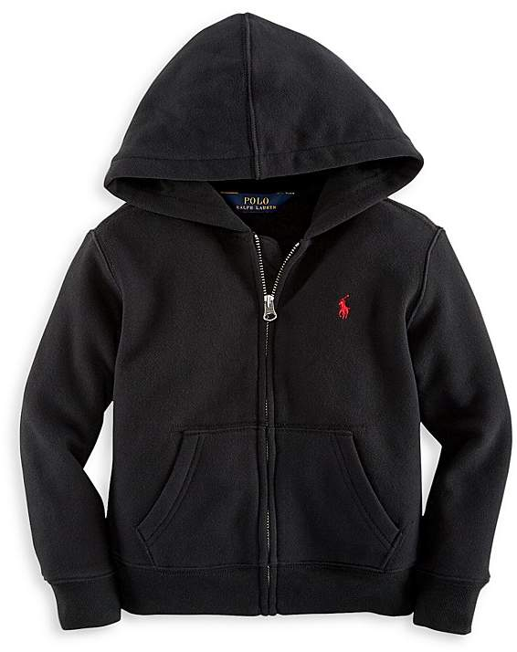 Ralph Lauren Childrenswear Boys' Fleece Zip Up Hoodie - Big kid
