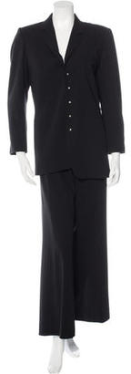 Jean Paul Gaultier Wool Embellished Pant Suit $165 thestylecure.com