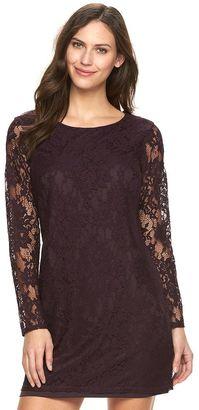 Women's Apt. 9® Lace Shift Dress $60 thestylecure.com
