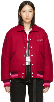 Noon Goons Red Old English Varsity Jacket