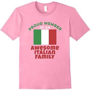 Italian Flag Shirt - Proud Member of an Awesome Family