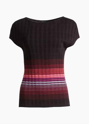 St. John Ombre Rib Knit Sweater