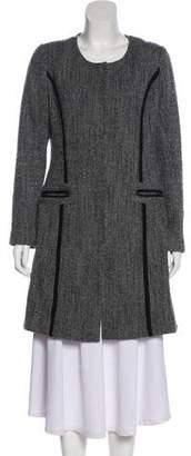 Diane von Furstenberg Wool Knee-Length Coat
