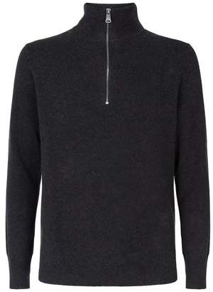 Burberry Zipped Cashmere Sweater