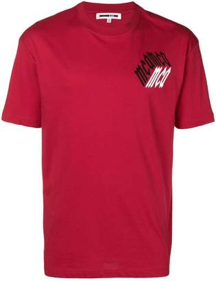 McQ chest logo T-shirt