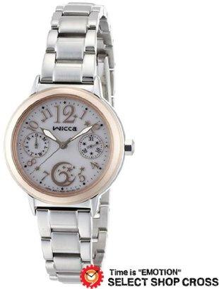 Citizen (シチズン) - CITIZEN シチズン Wicca GIRLISH レディス 腕時計 kb1-031-11 シルバー [時計] [時計]
