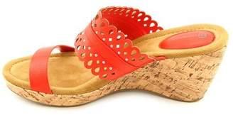 Giani Bernini Womens Ashira Open Toe Toe Strap Wedge Pumps Size 9.5