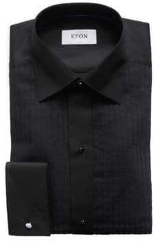 Eton Slim-Fit Plisse-Front Formal Shirt