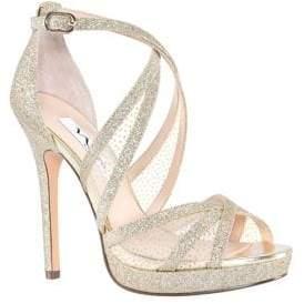 14071c0c997 Nina Fenna Glitter Platform Sandals