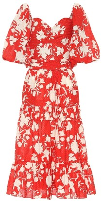 Johanna Ortiz Beautiful Chaos floral cotton dress