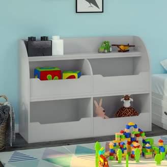 """Harriet Bee Smelser Toy Storage 36"""" Bookcase"""