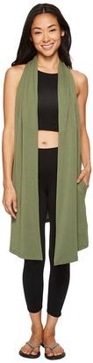 Lucy - Calm Heart Wrap Vest Women's Vest $75 thestylecure.com