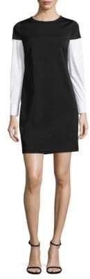 Supply & Demand Long Sleeve Crewneck Shirtdress