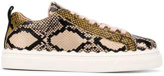Chloé Lauren lace-up sneakers