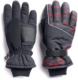 Tek Gear Boys 4-20 Ski Gloves