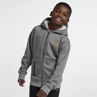 02b73e38546bbc Nike Big Kids  (Boys ) Full-Zip Hoodie Jordan