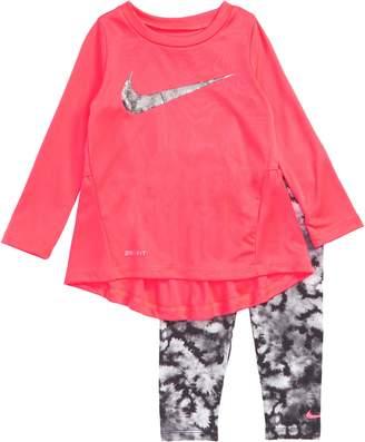 Nike Dry Swoosh Tunic & Leggings Set