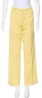 Max Mara Weekend Mid-Rise Wide-Leg Pants