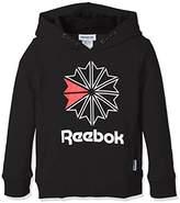 Reebok (リーボック) - (リーボック)Reebok トレーニングウェア F ラージ スタークレスト パーカー DLM18 [ジュニア] DLM18 CG0321 ブラック/ブラック (CG0321) J120