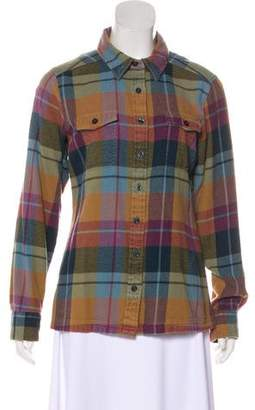 Patagonia Long Sleeve Button-Up Top