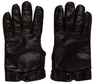 Valentino Cashmere-Lined Lambskin Gloves