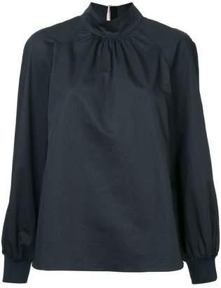 Tibi poplin blouse