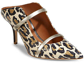 Malone Souliers Maureen Printed Leather Pumps