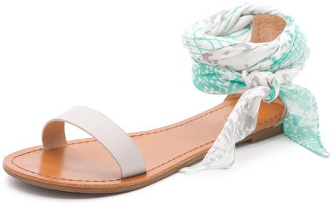 Gorjana Catalina Sandals Natural