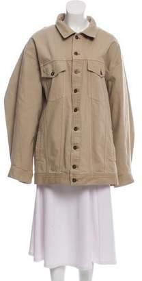 Y/Project Oversize Denim Jacket w/ Tags