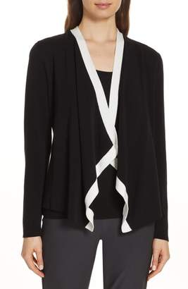 Eileen Fisher Angled Front Knit Jacket