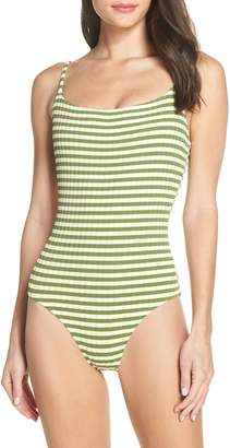 Solid & Striped The Nina Grass One-Piece Swimsuit