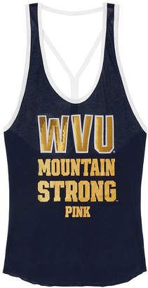 PINK West Virginia University Light Weight Strappy Tank