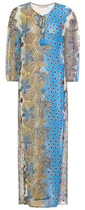 Tory Burch Jacinta floral-printed silk kaftan