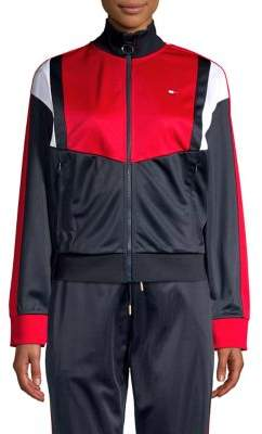 Tommy Hilfiger Performance Colorblock Stand-Collar Jacket