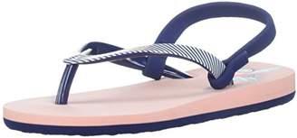 Roxy Girls' TW Pebbles Flip Flop Sandals