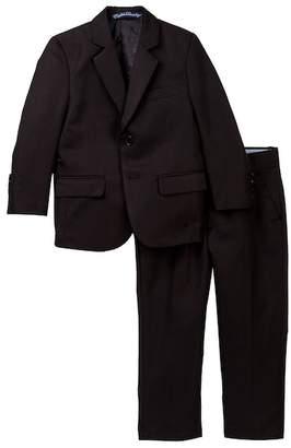 English Laundry Solid 2-Piece Suit Set (Toddler & Little Boys)