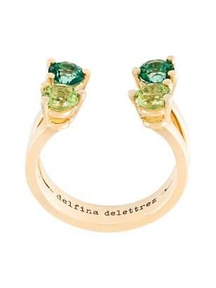 Delfina Delettrez 'Dots' phalanx midi ring