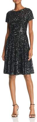 Aidan Mattox Sequined Party Dress
