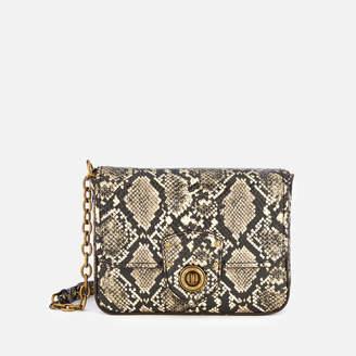 97639f83586d Lauren Ralph Lauren Women s Millbrook Small Chain Cross Body Bag - Black  Natural