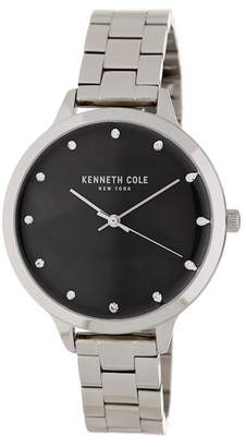Kenneth Cole New York Women's Mother of Pearl Bracelet Watch, 38 x 45mm