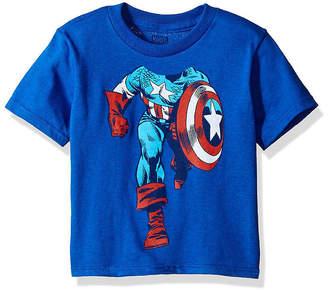 Freeze Toddler Boys Marvel Captain America Graphic T-Shirt