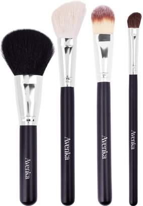 NEW Avenka The Basics Brush Set 4 pcs Womens Makeup