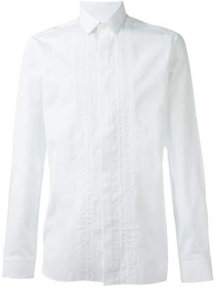 Lanvin pleated detail shirt